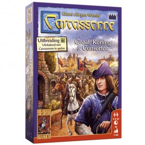 Carcassonne Graaf, Koning en Consorten 01