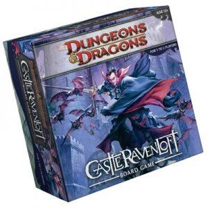 D&D Castle Ravenloft Boardgame 01
