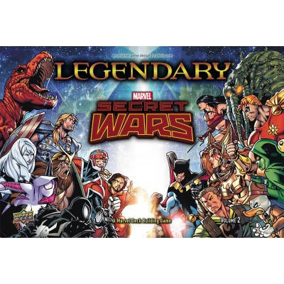 Marvel Legendary Secret Wars Volume 2 01