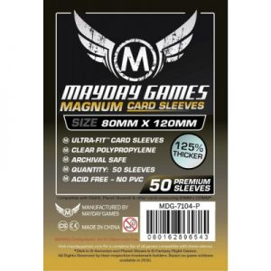 Sleeves Mayday Magnum 80 x 120 premium 01
