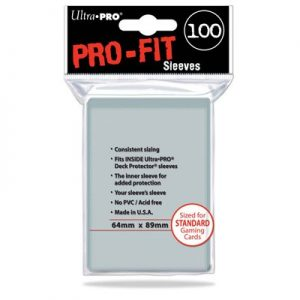 Sleeves Ultra Pro - Pro fit (STD) 01