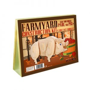 Animal Construction Kit - Farmyard Paul the Pig 01