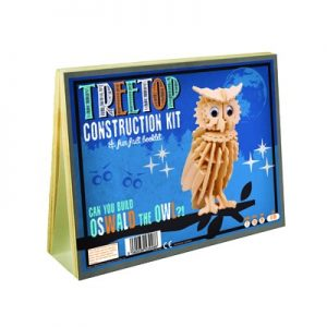 Animal Construction Kit - Treetop Oswald the Owl 01