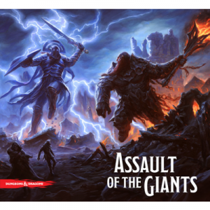 D&D Assault of the Giants Board Game 01