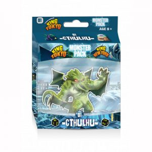 King of Tokyo Monster pack 1 Cthulhu 01