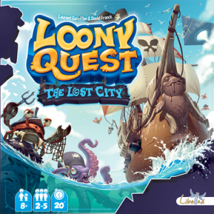 Loony Quest The lost city 01