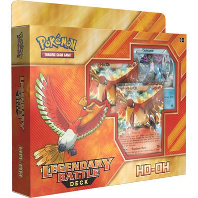 Pokemon TCG Ho-Oh Legendary Battle Deck 01