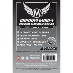 SLEEVES Mayday Premium Magnum Silver 70x110 mm 01