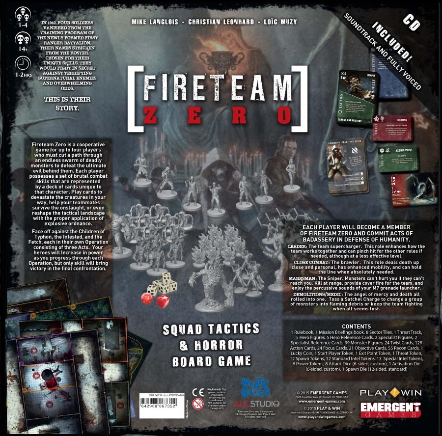 Fireteam Zero - Queen of Games de beste, leukste ...